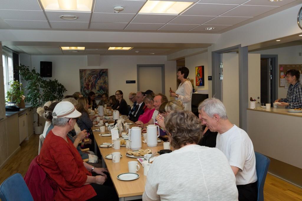 Foto fra cafeen i Blinde og Svagsynedes Aktivitetshus.